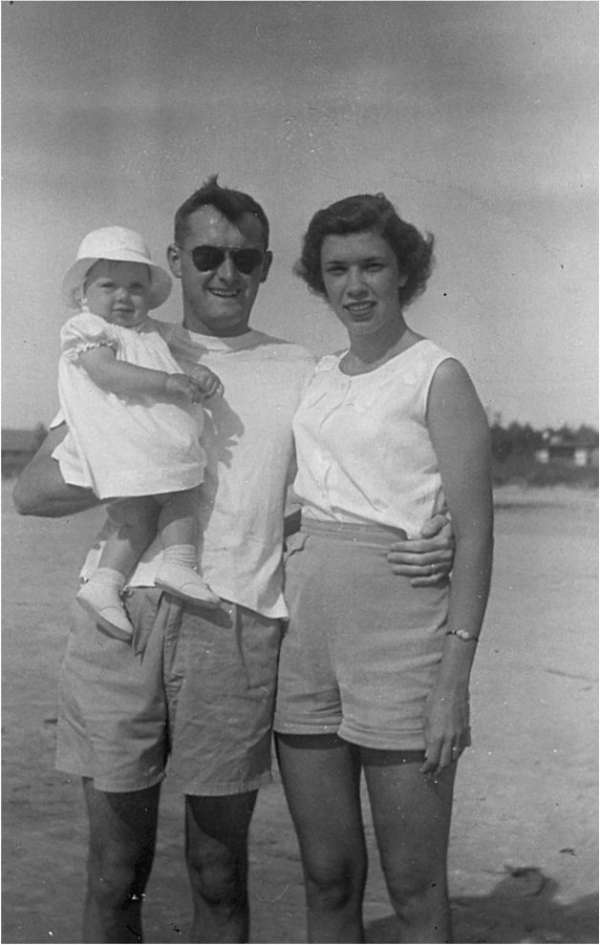Don-Betty-Kathy-Beach-1957